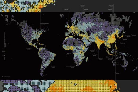Dencity map