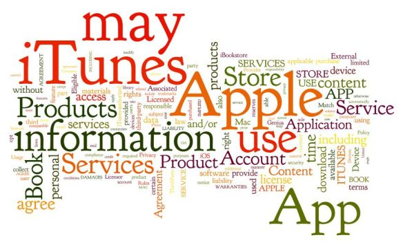 Wordle - iTunes terms of service