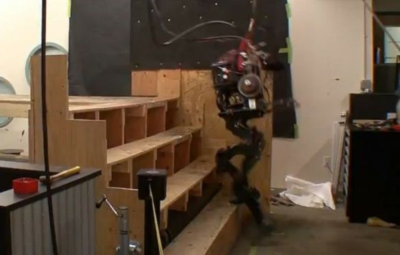 Boston Dynamics stair master